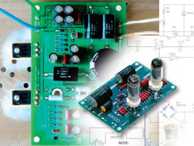 A Hybrid Valve MOSFET SE Amp - Complete Project