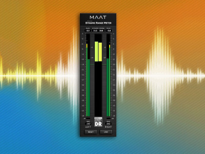 MAAT Launches Essential DRMeter Dynamic Range Metering Plug–in