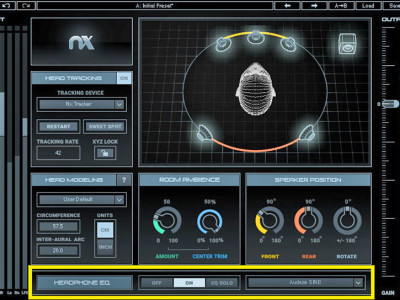 Waves Announces Headphone EQ Calibration for Nx Virtual Mix Room