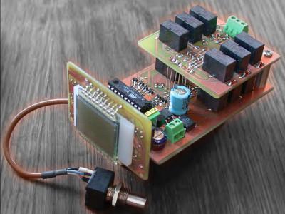 Build a BCD-Digital Potentiometer