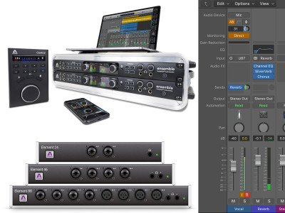 Apogee Eliminates Latency on Logic Pro X when using Ensemble and Element Audio Interfaces
