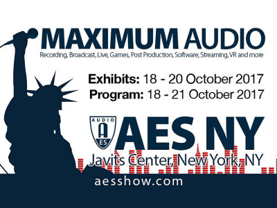 AES New York Convention 2017 to Feature New Exhibition Floor Expo Events and Expanded Technical Program and Events