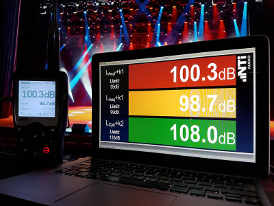 NTi Audio Launches Useful Sound Level Visualization with the Projector PRO Update