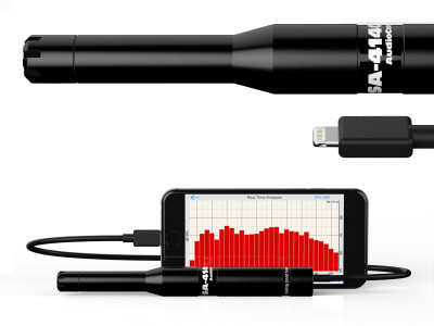 AudioControl New SA-4140i Hi-SPL Measurement Microphone Now Shipping