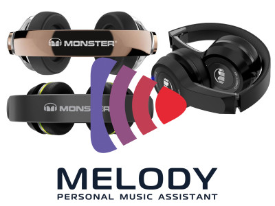"Monster and Speak Music Debut ""MonsterTalk"" Family of Voice-Controlled Headphones"