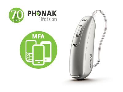 Phonak Releases Bluetooth Hearing Aid That Connects Directly to Any Cell Phone and TV