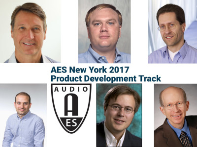 AES New York 2017's Product Development Track to Feature the Industry's Newest Advancements in Audio Technology and Methods