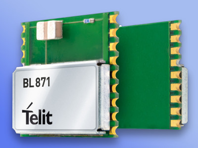 Telit Introduces Bluetooth 4.2 Host Controller Interface Module with Integrated Chip Antenna