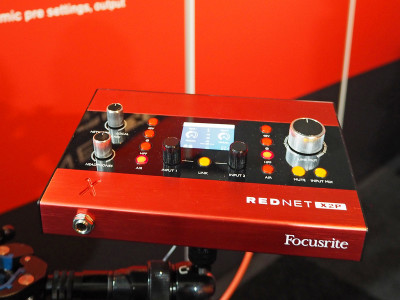 Focusrite Announces RedNet X2P Dante Audio Interface