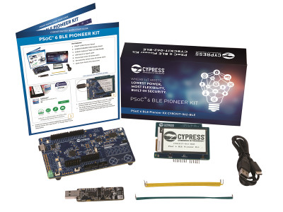 Cypress Releases PSoC 6 BLE Pioneer Kit and Supporting PSoC Creator 4.2 IDE