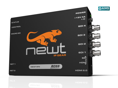 Ross Video Unveils Newt UHD-over-IP to HDMI-2.0 Converter