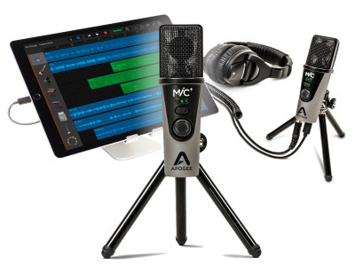 Apogee Introduces MiC Plus USB Microphone for iPad, iPhone, Mac and PC