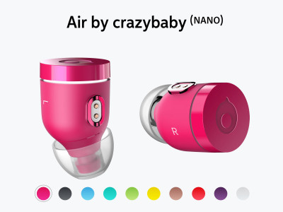 Crazybaby Announces Air (NANO) Bluetooth 5.0 Ready True Wireless Earbuds