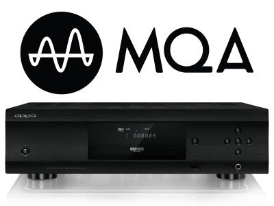 OPPO Announces Support for MQA with Update for UDP-205 Blu-ray Player