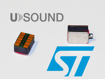 STMicroelectronics and USound Confirm First Piezo-Actuated MEMS Microspeakers Are Now Ready for Production