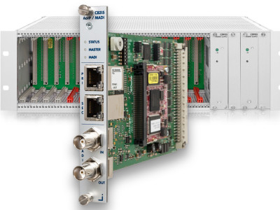 Jünger Audio Adds Dante/AES67 and MADI Connectivity To Its Modular C8000 Audio Processing System
