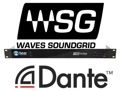 Bridge Product from Hear Technologies Brings Waves SoundGrid Processing to Dante Networks