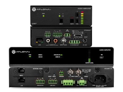 Atlona Introduces Next-Generation Wired and Networked Amplifiers at ISE 2018