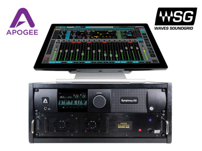 Apogee Symphony I/O Mk II Audio Interface Now Supports Waves SoundGrid Connectivity
