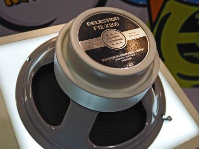 Celestion Debuts F12-X200 Full-Range Guitar Loudspeaker Designed Specifically for Use with Amp Modeling