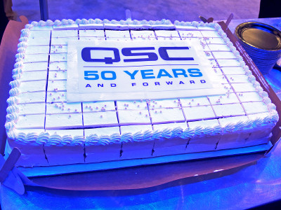 QSC Celebrates 50 Years and Major Product Milestones at NAMM 2018