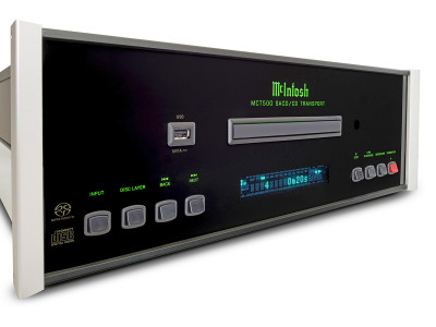McIntosh Now Offers MCT500 SACD/CD Transport with Front Panel USB Input