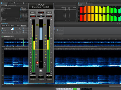 MAAT Announces DRMeter MkII Universal Plug–in for Measurement and Monitoring of Audio Loudness and Dynamics