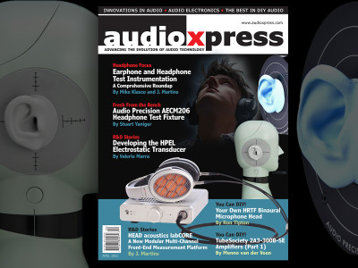 Headphone Focus audioXpress April 2018 Edition, Now Available!
