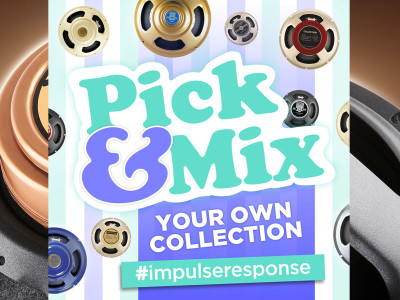 "Celestion Announces New ""Pick & Mix"" Option for their Acclaimed Impulse Response Library"