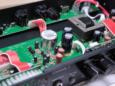Jensen's Mic Input Transformer Specified for ART Trans X Two Channel Solid State Preamp