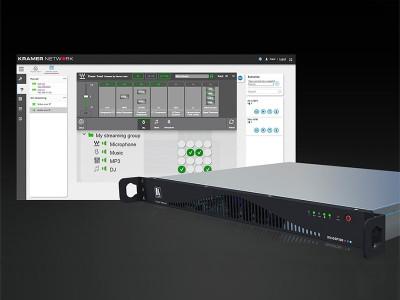 Waves MultiRack Audio Processing Plugins Power the KN-DSP100 Kramer Network Server