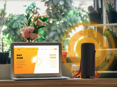 Volareo: a Streaming Speaker That Pays Musicians When Listeners Clap