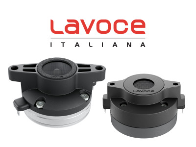New Small Format Compression Drivers From Lavoce for Prolight+Sound 2018