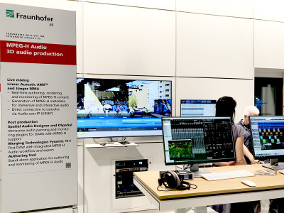 Fraunhofer MPEG-H TV Audio System Selected as 3D Audio Standard for UHD TV in China