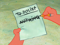 To do list thumb