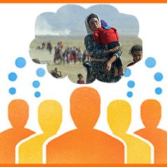 FIN-leden delen kennis over vluchtelingprojecten