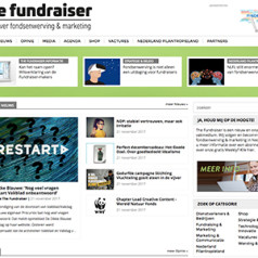 Vliegende start Lenthe's nieuwe vakmedium voor fondsenwervers