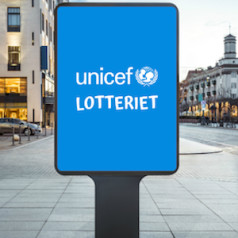 Lottovate & Unicef starten loterij in Noorwegen