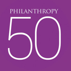 Techneuten domineren opnieuw Philanthropy 50 in de VS