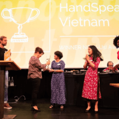 Partos Innovation Festival 2018: HandSpeak Vietnam wint eerste NOW-Us! Award