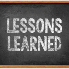 Hebben we ons lesje wel geleerd?