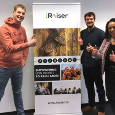 Maarten van der Weijden Foundation kiest opnieuw voor iRaiser