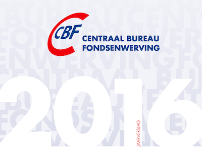 Jaarverslag Centraal Bureau Fondsenwerving (CBF)