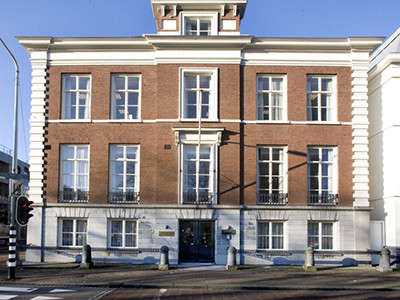 Het Foundation House, het nieuwe onderkomen van de FIN.