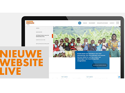 Website goededoelen.nl vernieuwd
