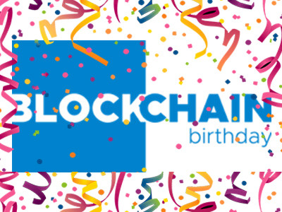 Blockchain Birthday: noteert 1 november vast in uw agenda.
