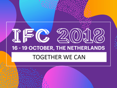'Together we can' is thema IFC 2018