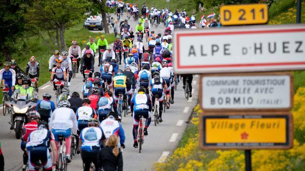 Alpe d'HuZes levert mogelijk 65 procent minder op