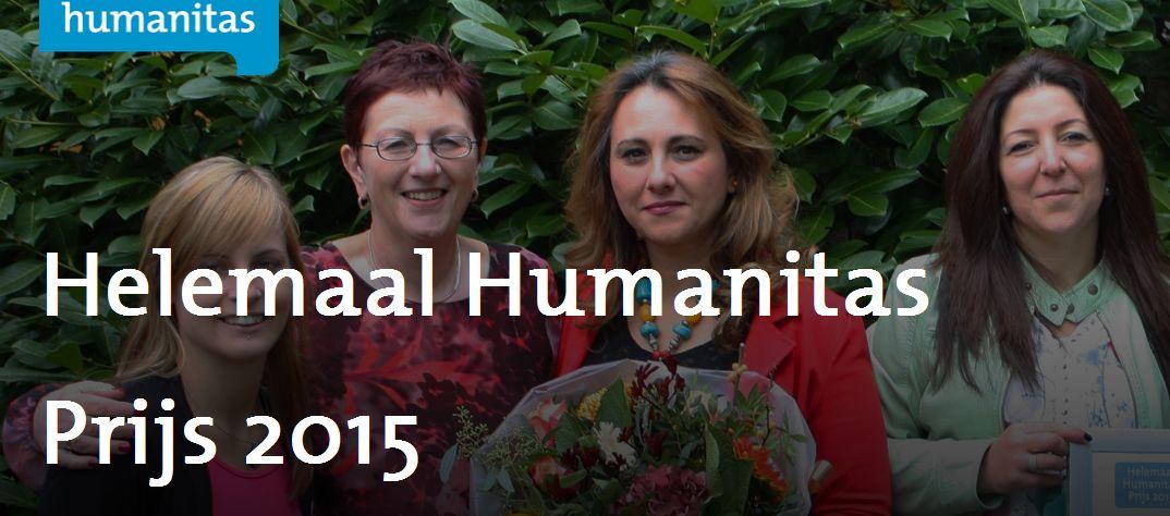 Jury- en publieksprijs bij Helemaal Humanitas