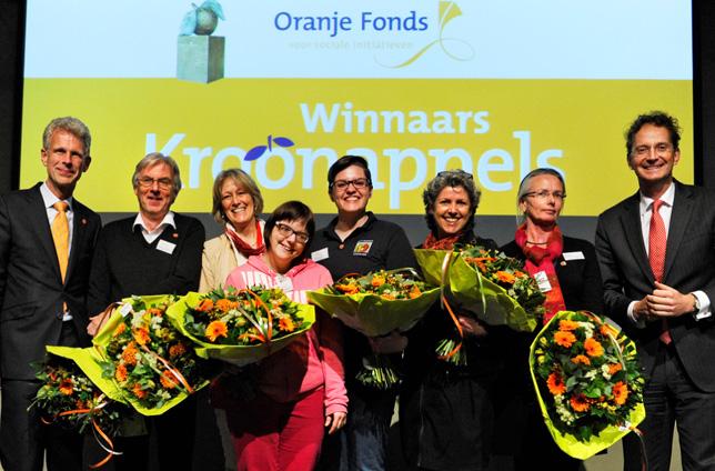 Oranje Fonds maakt Kroonappels bekend